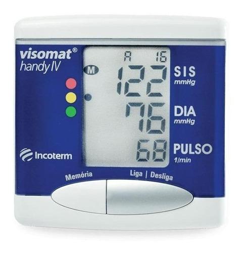 Medidor De Pressão Arterial Digital De Pulsoincoterm Visomat Handy Iv