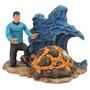Star Trek Mr. Spock Boneco Diamond Filme Oscar Cinema Series