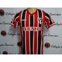 Camisa São Paulo Listrada 2014 Ph Ganso 100 Jogos