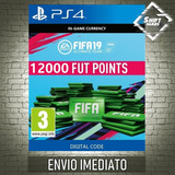 12000 Fifa 19 Points Ps4 / Ps3 Br