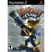 Jogo Novo Lacrado Ratchet And Clank Para Playstation 2
