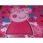 Manta Cobertor Peppa Pig, Solteiro, Microfibra, Antialérgica