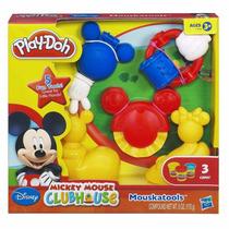 Play-doh Massinha - Casa Do Mickey Mouse Kit Mouskatools