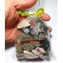 Saco 500g Pedras Brasileiras Mistas Minerais Naturais 2-3cm