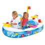 Barco Inflável Piscina De Bolinhas Bóia Brinquedo Infantil