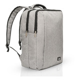 Mochila Notebook Laptop 15' Cinza Switz