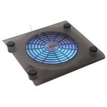 Base Suporte Notebook Cooler 160mm Gigante Neon Azul Pixxo