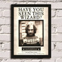 Poster Com Moldura Harry Potter - Wanted Sirius Black!