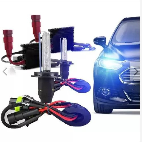 Kit Xenon Lampada 8000k Carro H1 H8 H9 H11 Hb3