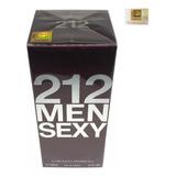 Perfume 212 Sexy Men Edt 100ml - Selo Adipec Original