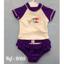 Biquini Com Camiseta Bebê Oshkosh