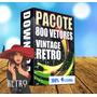 800 Vintage Vector Retro Fotos Retro Imagens Vetor Corel