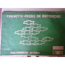 Chevette Catalogo Peças Reposição Gm