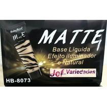 Base Liquida Matte Ruby Rose - 12 Unidades