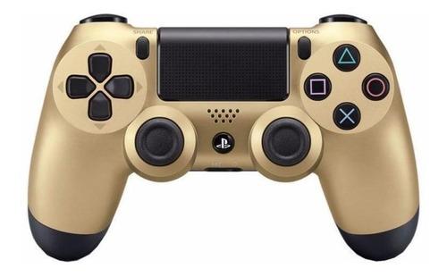 Controle Joystick Sony Dualshock 4 Gold