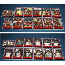 Flamengo 8 Times: 80 81 82 Etc Mod. Futebol Cards Ping Pong