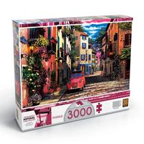 Quebra Cabeça Puzzle 3000 Peças Rua Florida - Grow