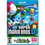 Jogo New Super Mario Bros U+new Superr Luigi U Para Wii U