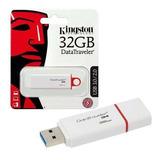 Pen Drive Kingston Datatraveler G4 32gb Usb 3.0