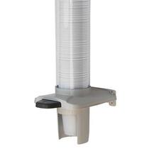 Porta Poupa Copos Água Dispenser Botão Automático Unicopo