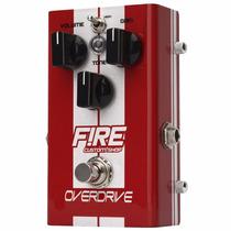 Pedal Fire Overdrive Efeito Para Guitarra