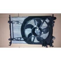 Radiador Com Eletro Ventilador Palio Fire