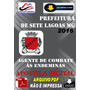 Apostila Digital Pref Sete Lagoas Mg Agente Combate Endemias