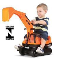 Trator Escavadeira Infantil Giant Escavator Roma Oferta !!!