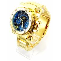 Relógio Masculino I.n.v.i.c.t.a Gold 2 100% Funcional Top