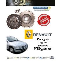 Kit Embreagem Renault Scenic 2.0 8v E 16v Ano 2000 Até 2008