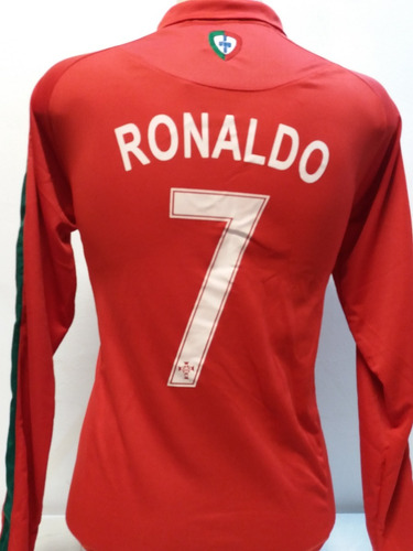 4791f5eb72 Camisa Polo Portugal Manga Longa Cr7 Cristiano Ronaldo 2018. R  75.99