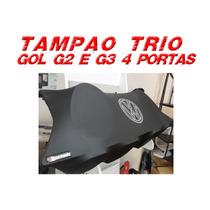 Tampão Trio Personalizado Gol G2 E G3 4 Portas