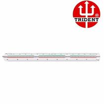 Escalímetro Triangular Profissional Trident 7830/1