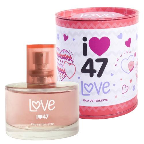 Love 47 Street - Perfume Feminino - Eau De Toilette 60ml