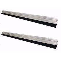 Vedante Protetor De Porta Kit Com 2 Em Alumínio 90 Cm