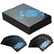 Baralho Poker Eagle Preto De Plástico À Prova D'água