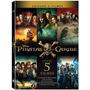 Blu-ray Coleção Piratas Do Caribe - 5 Discos  - Orig Lacrado