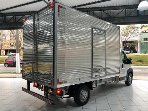 Fiat Ducato Chassi Cabine 2020 Branca Baú Carga Seca