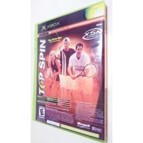 Ncaa Football 2005 + Top Spin Tenis X-box Classico Somente