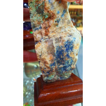 Pedra P/ Colecionador/azur De Malaquita Natural Bruta/cod329