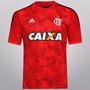 Camisa Flamengo Adidas 3 Third 2014 Vermelha