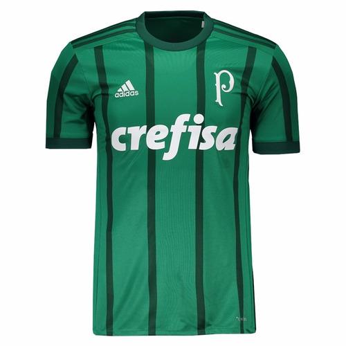 523c11164367a Camisa Palmeiras adidas I 2017 2018 Pronta Entrega. R  249.99