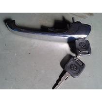 Maçaneta Externa C/chave Kombi Clipper Caminhão Vw Original!
