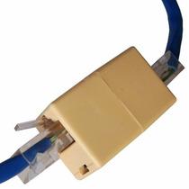 Kit 9 Adaptador Emenda Rj45 Cabo Rede Conector Femea X Femea