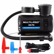 Mini Compressor Ar Automotivo Portatil Multilaser 12v-250psi