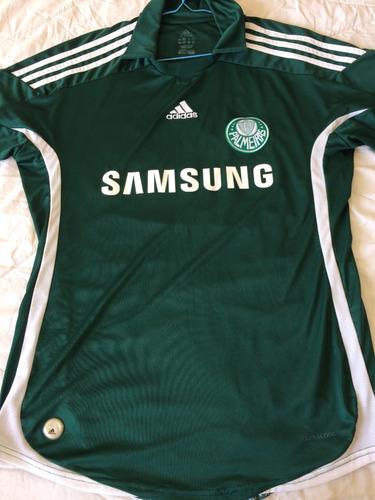 5b0893601dfa5 Camisa Palmeiras adidas Samsung 2009 G Obina Leia Anuncio