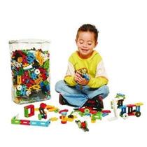 Blocos Montar Formando Ideias Brinquedo Pedagógico 1000 Pçs