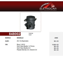 Sensor De Fluxo De Ar Audi A3 Aspirado 99 À 03 (medidor)