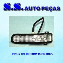Pisca Retrovisor Idea Palio Strada Adventure Peça Original