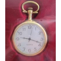 A9970 Relógio De Bolso Da Coleção The Pocket Watch. Novo. Me